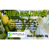 Lime and May Chang Natural Soap