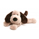 Cozy Plush Brown Puppy