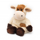 Cozy Plush Cow (Brown & Cream)